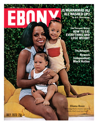 Ebony July 1973 Photographic Print by G. Marshall Wilson