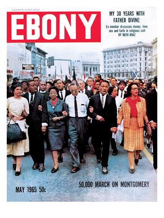 Ebony May 1965 Photographic Print by Moneta Sleet