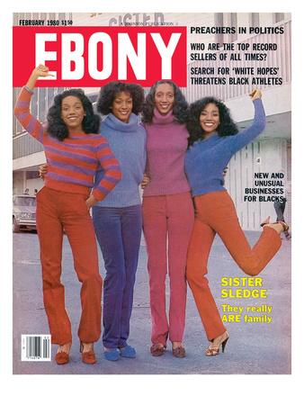 Ebony February 1980 Photographic Print by Moneta Sleet