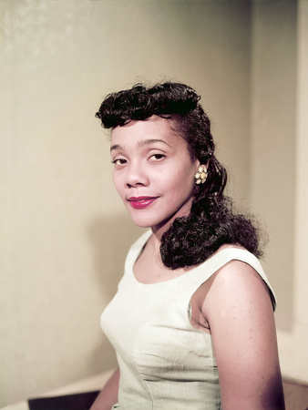Coretta Scott King, 1958 Photographic Print by Moneta Sleet