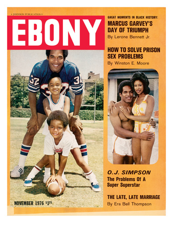 Ebony November 1976 Photographic Print by Moneta Sleet