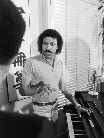 Lionel Richie, 1982 Photographic Print by Vandell Cobb