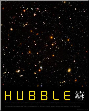 Hubble Ultra Deep Field Umocowany wydruk