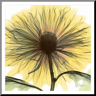 Dream in Yellow Kunst op hout van Albert Koetsier