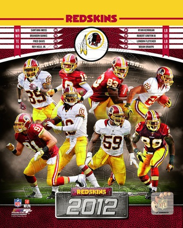 Washington Redskins 2012 Team Composite Photo