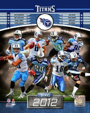 Tennessee Titans 2012 Team Composite Photo