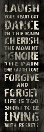 Laugh Prints by Jace Grey