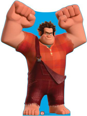 Wreck-It Ralph - Disney's Wreck-It Ralph Movie Lifesize Standup Cardboard Cutouts