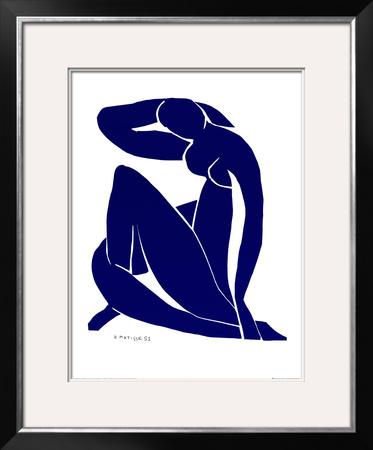 Blue Nude II Prints by Henri Matisse