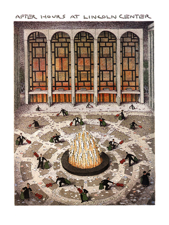 After Hours at Lincoln Center - New Yorker Cartoon Giclee Print by John O'brien