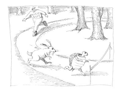Nice Guy. - Cartoon Giclee Print by John O'brien