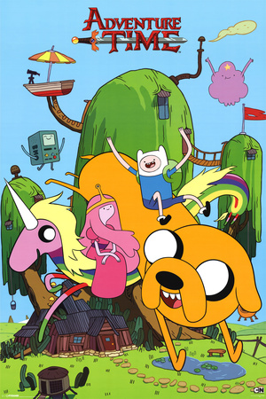 Adventure Time-House 25 Posters