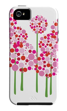 Pink Allium Funda de iPhone 5 por Avalisa,