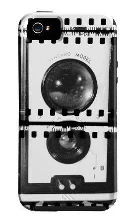 Cromo de cámara IV Funda de iPhone 5 por Chariklia Zarris