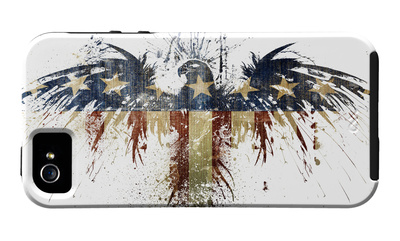 Eagles Become United States eagle symbol iPhone case design artwork by Alex Cherry