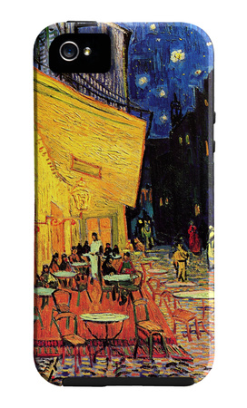 Vincent van Gogh Cafe Terrace iPhone case design artwork