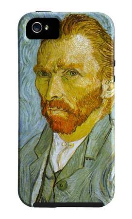 Self Portrait Funda de iPhone 5 por Vincent van Gogh