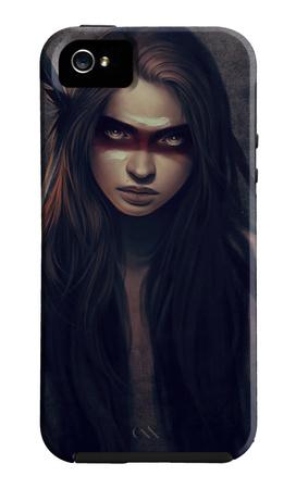 Howl Funda de iPhone 5 por Charlie Bowater