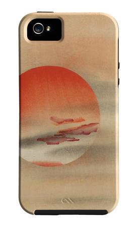 El sol rojo Funda de iPhone 5