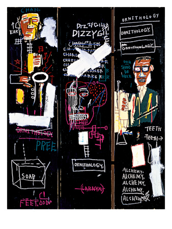 Horn Players, 1983 Giclee Print by Jean-Michel Basquiat