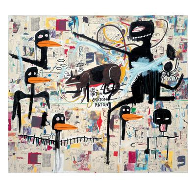 Tenor, 1985 Giclee Print by Jean-Michel Basquiat