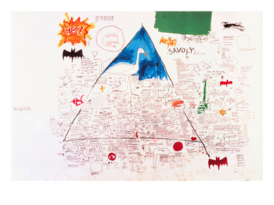 Untitled, 1986 Giclee Print by Jean-Michel Basquiat