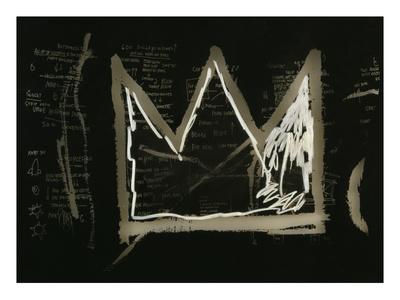 Tuxedo, 1982-83(detail) Premium Giclee Print by Jean-Michel Basquiat