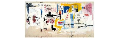 Per Capita, 1981 Giclee Print by Jean-Michel Basquiat