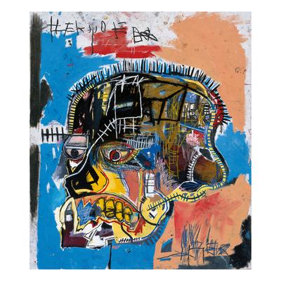 Uden titel, 1981 Giclée-tryk af Jean-Michel Basquiat