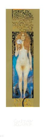 Nuda Veritas Láminas por Gustav Klimt