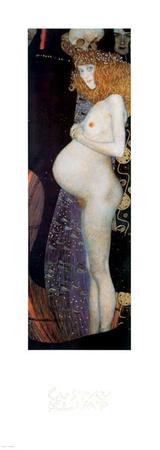 The Hope Prints by Gustav Klimt