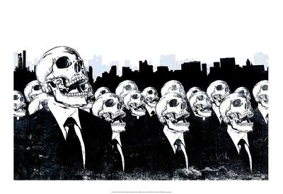 We Live No More Print by Alex Cherry