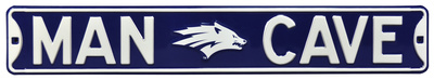 Man Cave Nevada Wolfpack Steel Sign Wall Sign