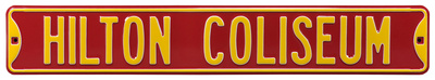 Hilton Coliseum Iowa State Steel Sign Wall Sign