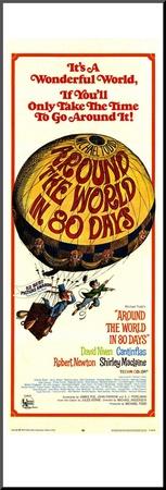 Around the World in 80 Days, 1968 Kunst op hout