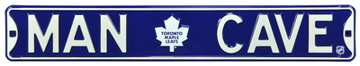Man Cave Toronto Maple Leafs Steel Sign Wall Sign