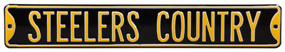 Steelers Country Steel Sign Wall Sign