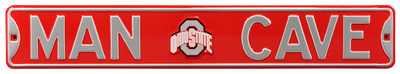 Man Cave Ohio State Steel Sign Wall Sign