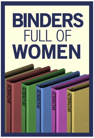 Binders Full of Women Posters