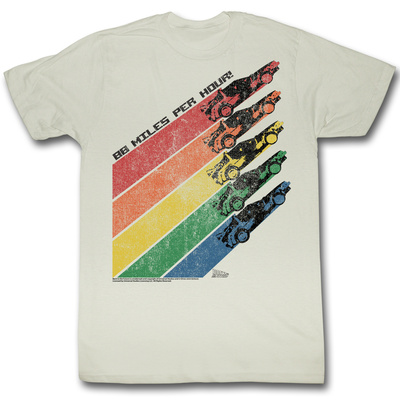 Back To The Future - Rainbow Tshirt