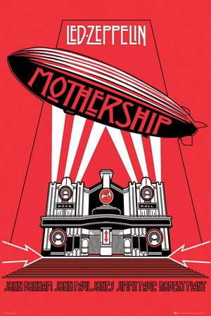Led Zeppelin -Mothership Billeder