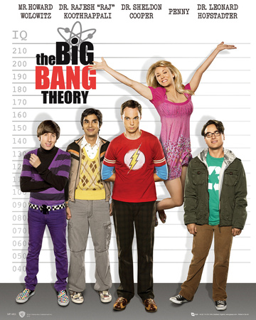 The Big Bang Theory-Line Up Posters