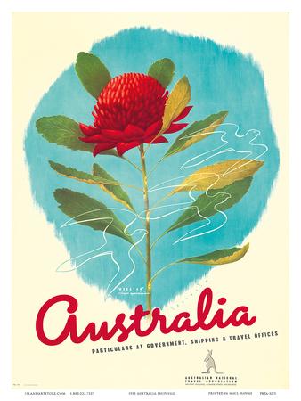 1935 Australia Shipping Prints by Gert Sellheim