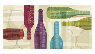 All Bottled Up Prints by Tandi Venter