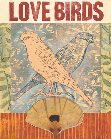 Love Birds I Prints by Meredith Macleod