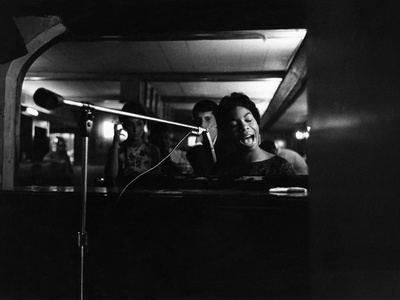 Nina Simone - 1959 Photographic Print by G. Marshall Wilson
