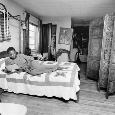 Nina Simone Photographic Print by G. Marshall Wilson