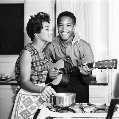 Sam Cooke 1965 Photographic Print by William Lanier