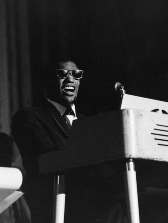 Ray Charles - 1966 Photographic Print by Lacey Crawford