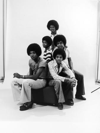 Michael Jackson, The Jackson Five Photographic Print by Norman Hunter